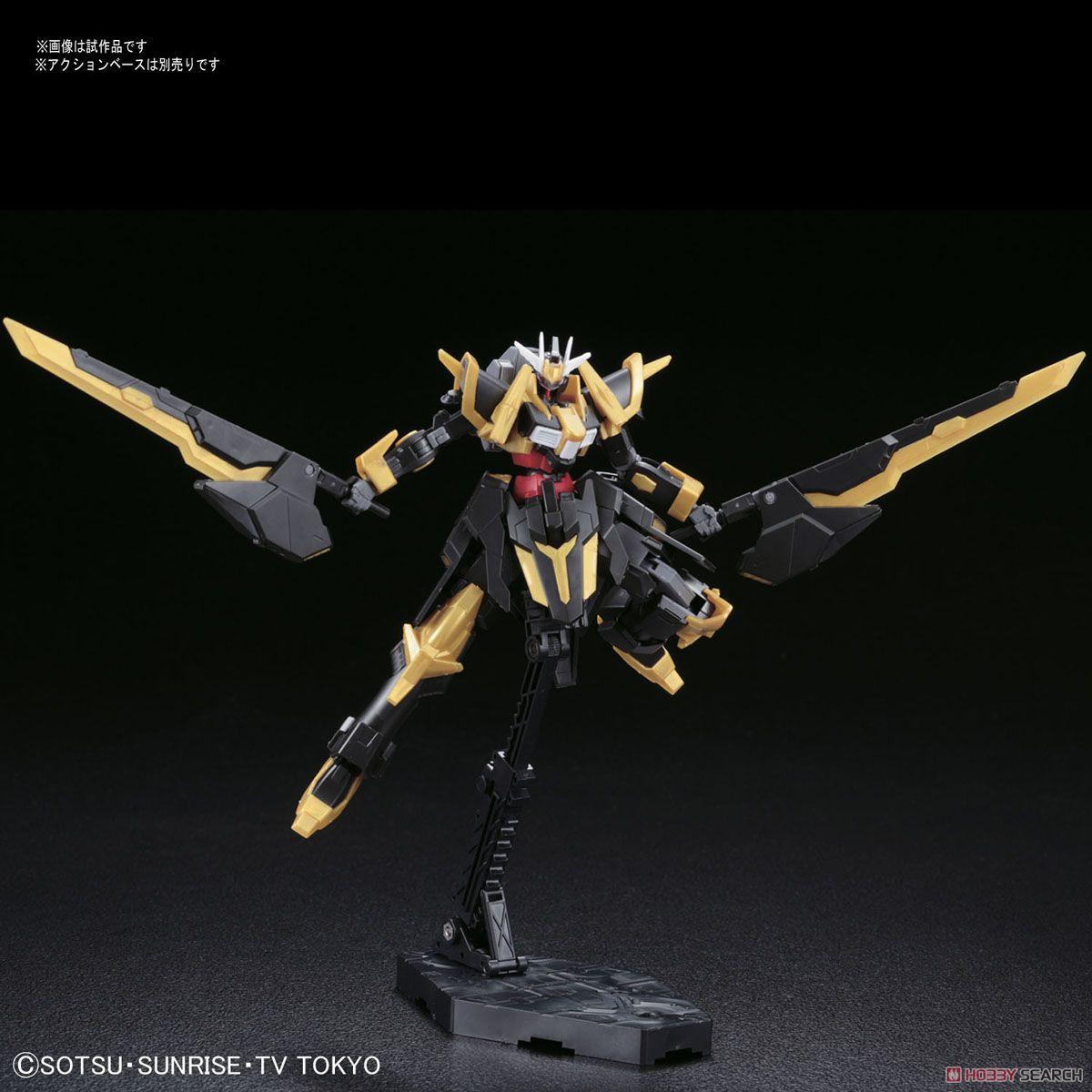 [Close] Gundam Schwarzs Ritter (HGBF) (Gundam Model Kits) Item picture3