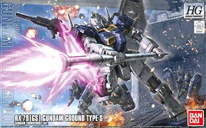 Gundam Ground Type S (Gundam Thunderbolt Ver.) (HG) (Gundam Model Kits)
