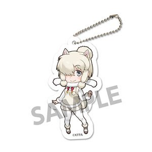Kemono Friends Fuwafuwa Felt Key Ring Alpaca Suri Anime Toy Hobbysearch Anime Goods Store