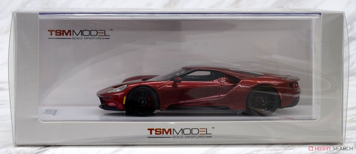 Ford Gt Liquid Red Cast Car Package