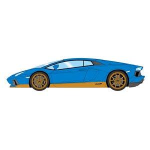 Lamborghini Aventador Miura Homage 2016 Blue Gold Cream Interior