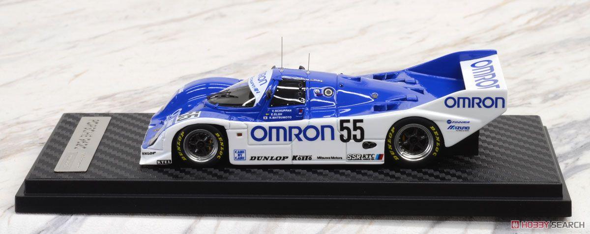 OMRON Porsche 962C (#55) 1989 JSPC (ミニカー)