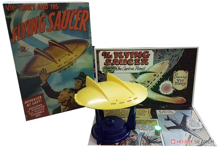 Vic Torry and His Flying Saucer [Plastic model) Other picture2