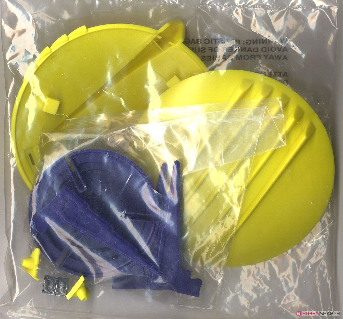 Vic Torry and His Flying Saucer [Plastic model) Contents1