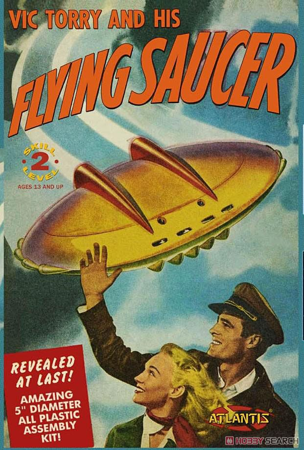 Vic Torry and His Flying Saucer [Plastic model) Package1