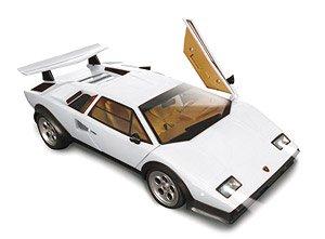 Lamborghini Countach Lp500s White Rc Model Hobbysearch Toy Store