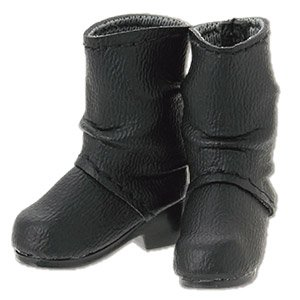 Crease Engineer Boots (Black) (Fashion Doll)