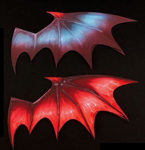 Paper Effect Wing (B) Devil Wing Red (Display)
