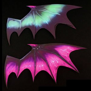 Pepatama Series PCP-0015 Paper Effect Wing(B) Devil Wing Purple (Display)