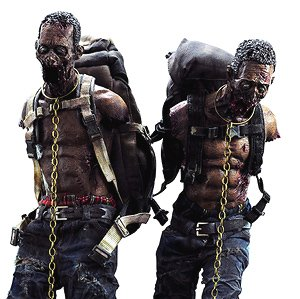 Michonne`s Pet Walker Twin Pack (Completed)