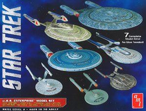 Star Trek Enterprise Box Set (Plastic model)