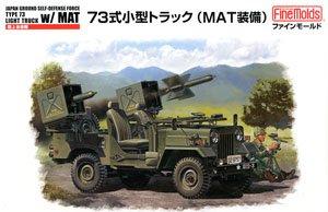 陸上自衛隊 73式小型トラック (MAT装備) (プラモデル)