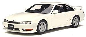 日産 シルビア K`s (S14) パールホワイト (ミニカー)
