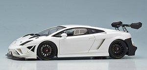 Lamborghini Gallardo Lp570 4 Super Trofeo 2013 White Diecast Car