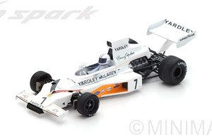 McLaren M23 No.7 Winner Swedish GP 1973 Denis Hulme (ミニカー)