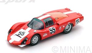 Porsche 906 LH No.55 5th 24h of Daytona 1967 D.Spoerry - R.Steinemann (ミニカー)