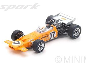 McLaren M14A No.17 6th French GP 1970 Dan Gurney (ミニカー)