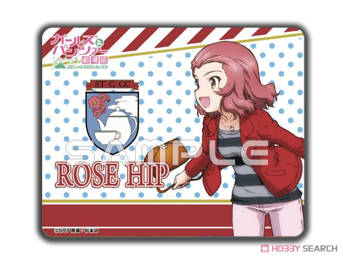 Girls und Panzer der Film Rosehip Draw for a Specific Purpose (Holiday) Mouse Pad (Anime Toy) Item picture1
