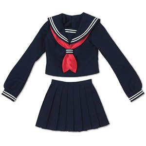 AZO2 Sailor Suit Set (Navy x Red) (Fashion Doll)