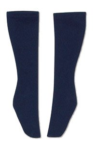 AZO2 School Socks (Navy) (Fashion Doll)
