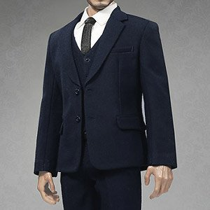 POP Toys 1/6 Mens Suits Set Navy (Fashion Doll)