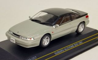 Subaru Alcyone SVX 1991 Silver F43-057 First43 1//43