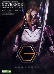 Governor Light Armor Type: Rose (Plastic model)