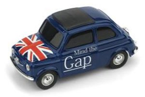 fiat new 500 england mind the gap god save the queen diecast car hobbysearch diecast car store. Black Bedroom Furniture Sets. Home Design Ideas