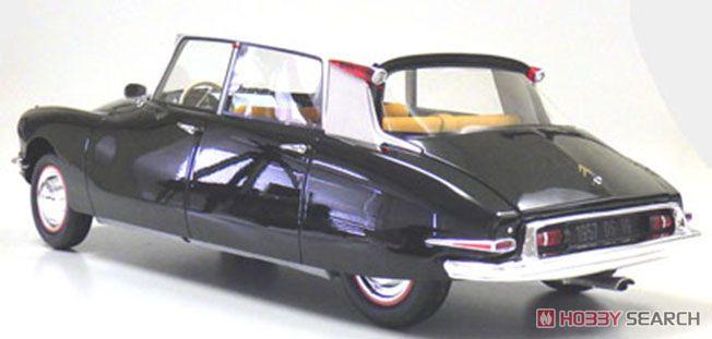 シトロエン DS19 タイプI (ブラック/ライトベージュ) (ミニカー)