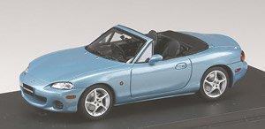 マツダ ロードスター (NB8C) RS II (2000) クリスタルブルーメタリック (ミニカー)