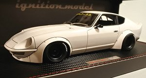 LB-WORKS Fairlady Z (S30) White (ミニカー)