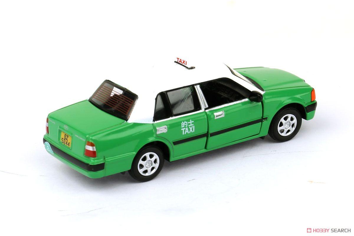 No.45 トヨタ クラウン コンフォート タクシー 緑 (ミニカー)