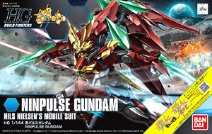 Ninpulse Gundam (HGBF) (Gundam Model Kits)