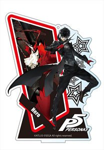 Persona 5 Big Acrylic Stand Ver.2 Hero (Anime Toy)