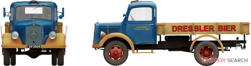 German Cargo Truck LS1500S (Plastic model) Other picture1