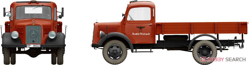 German Cargo Truck LS1500S (Plastic model) Other picture3