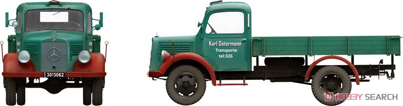 German Cargo Truck LS1500S (Plastic model) Other picture5