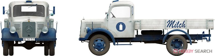 German Cargo Truck LS1500S (Plastic model) Other picture6