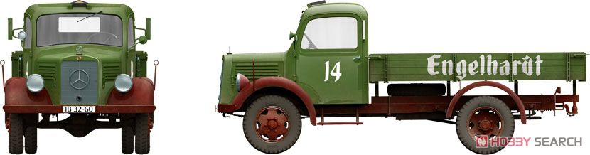 German Cargo Truck LS1500S (Plastic model) Other picture8