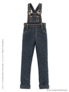 PNXS Komorebimori no Oyofukuyasan [Salopette Pants] (Indigo) (Fashion Doll)