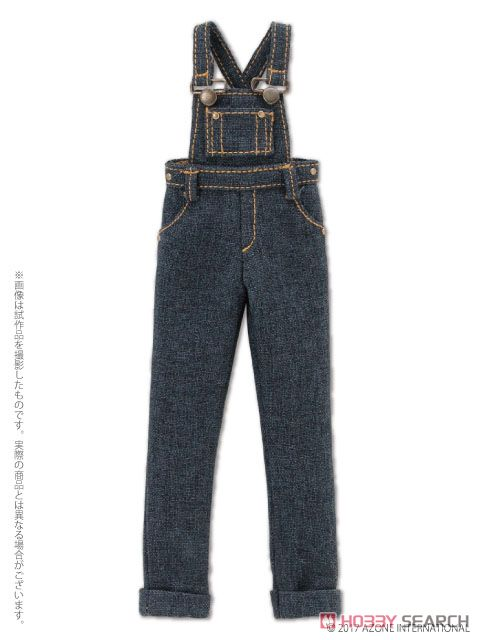 PNXS Komorebimori no Oyofukuyasan [Salopette Pants] (Indigo) (Fashion Doll) Item picture1