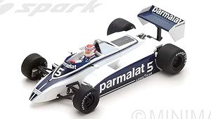 Brabham BT49 No.5 Winner Long Beach GP 1980 Nelson Piquet (ミニカー)