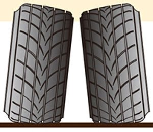 Tire 4 Pieces Set (Stretch) (Accessory)