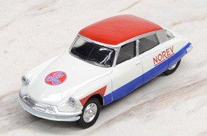 シトロエン DS 19 1958 `Cycliste - Blue White Red` (ミニカー)