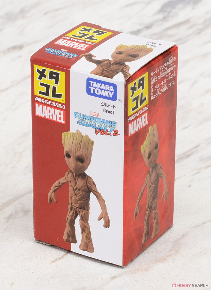 Metal Figure Collection Marvel Groot (Completed) Package1