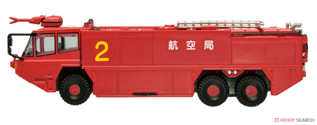 ニッポンの働く車キット 消防車両1 10個セット (ミニカー)