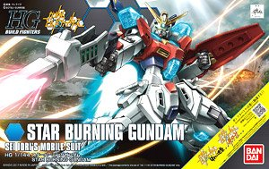 Star Burning Gundam (HGBF) (Gundam Model Kits)