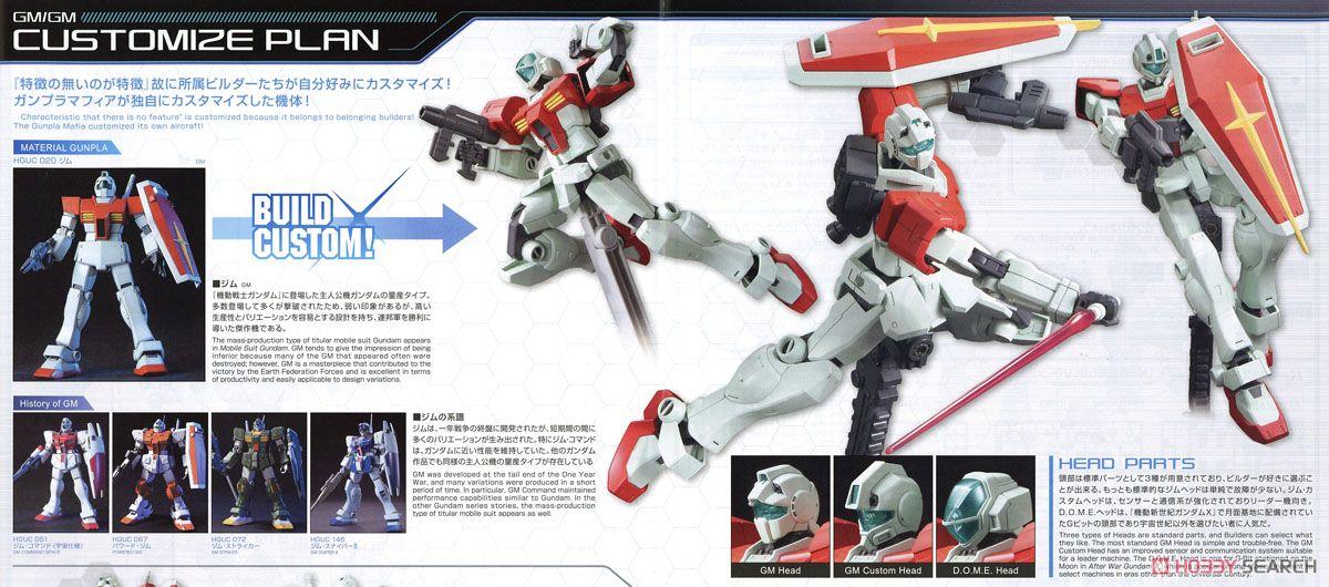 GM/GM (HGBF) (Gundam Model Kits) About item2