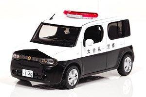 日産 キューブ (Z12) 2012 大分県警察所轄署小型警ら車両 (ミニカー)