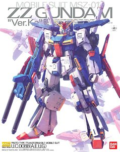 *w/Premium Decal MSZ-010 ZZ Gundam Ver.Ka (MG) (Gundam Model Kits)